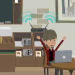 Sectricity animatie - Gratis Wifi