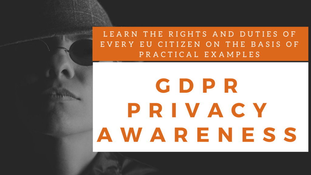 Training Privacy Awareness, Training Privacy Awareness