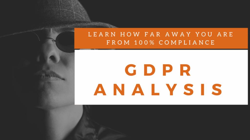 gdpr analysis