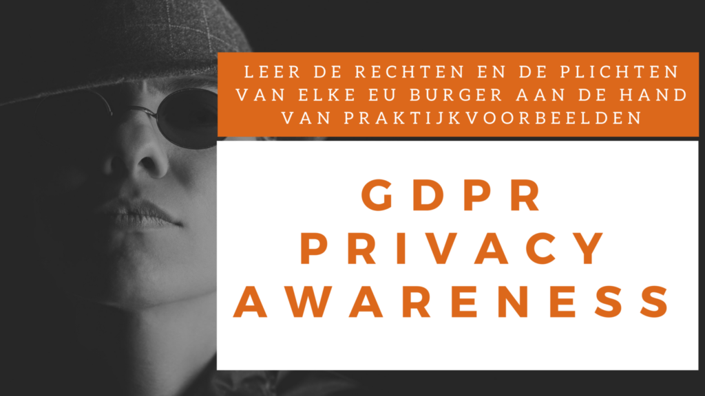 gdpr privacy awareness