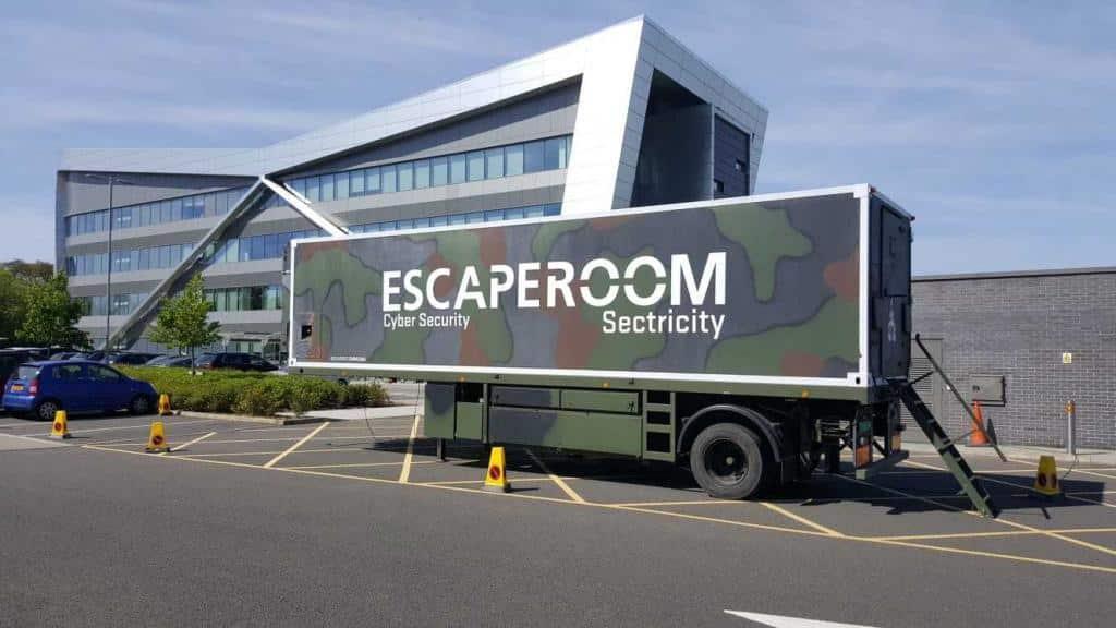 camion d'évasion cybersécurité
