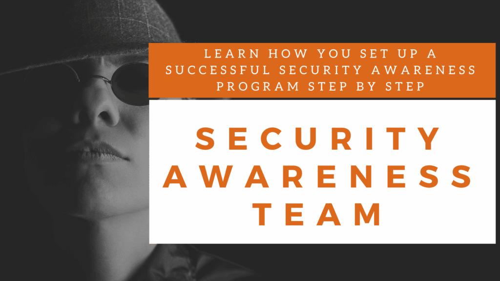 the security awareness team